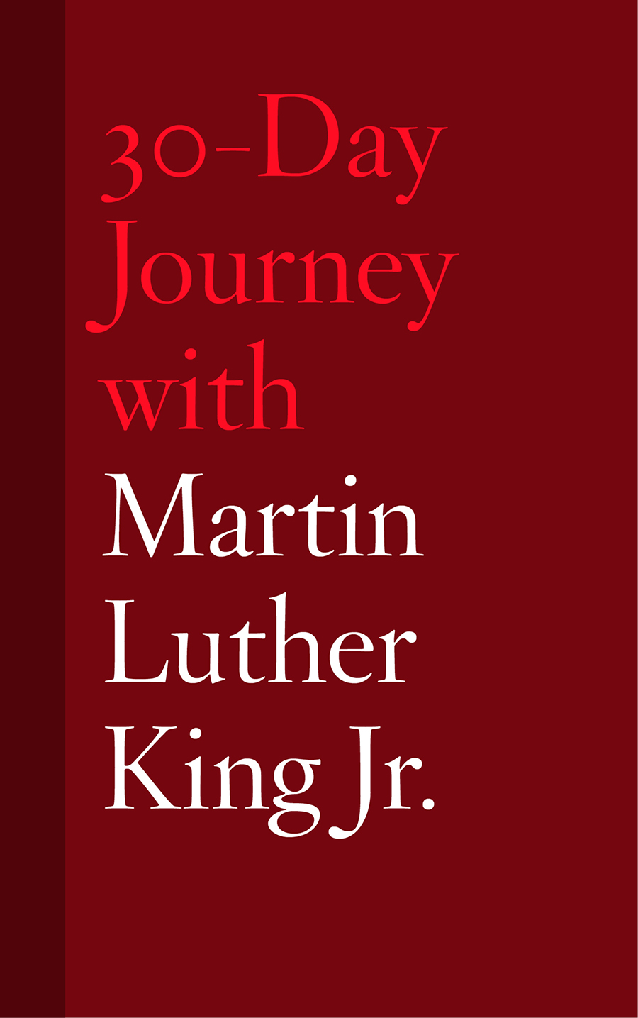 30 day journey with martin luther king jr